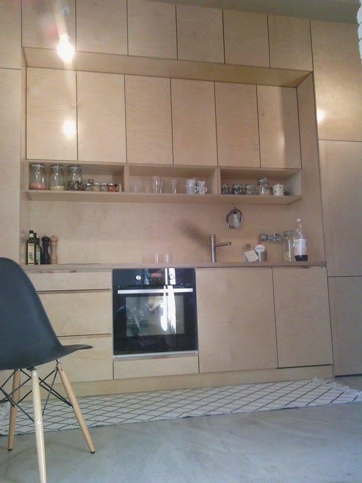 Kuchyna z preglejky