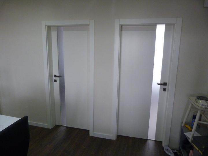 Biele dvere na mieru