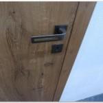 Bezfalcove dvere naturalne dub