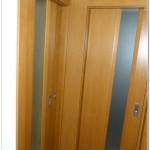 Dvere so svetlikom z kaleneho skla