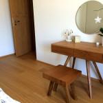 Toaletný stolík dub