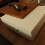 Luxusný konferenčný stol dub lesk