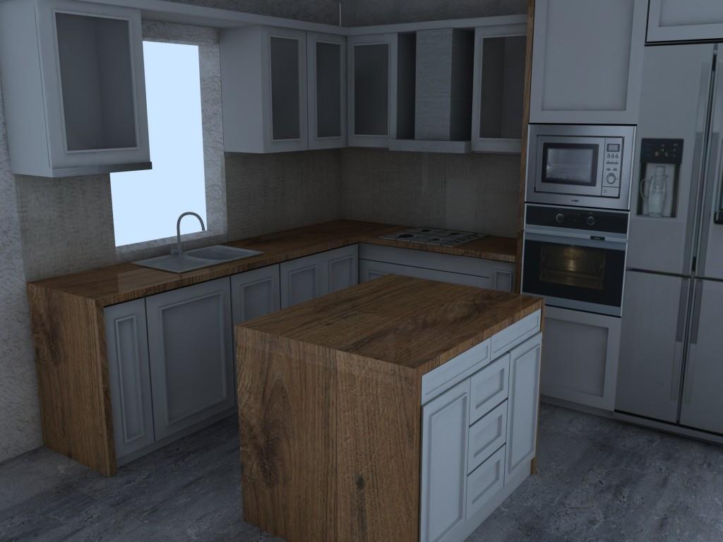 Vintage kuchyna