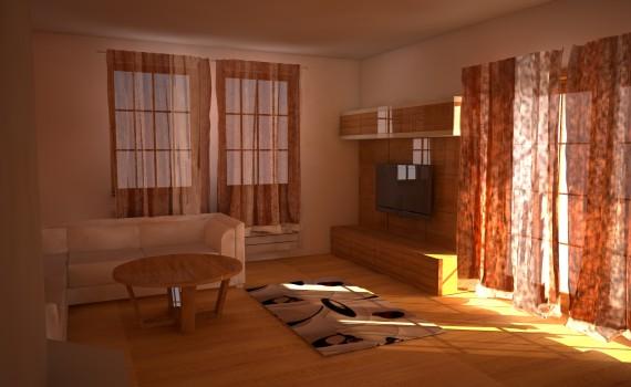 3D vizualizácie nábytku